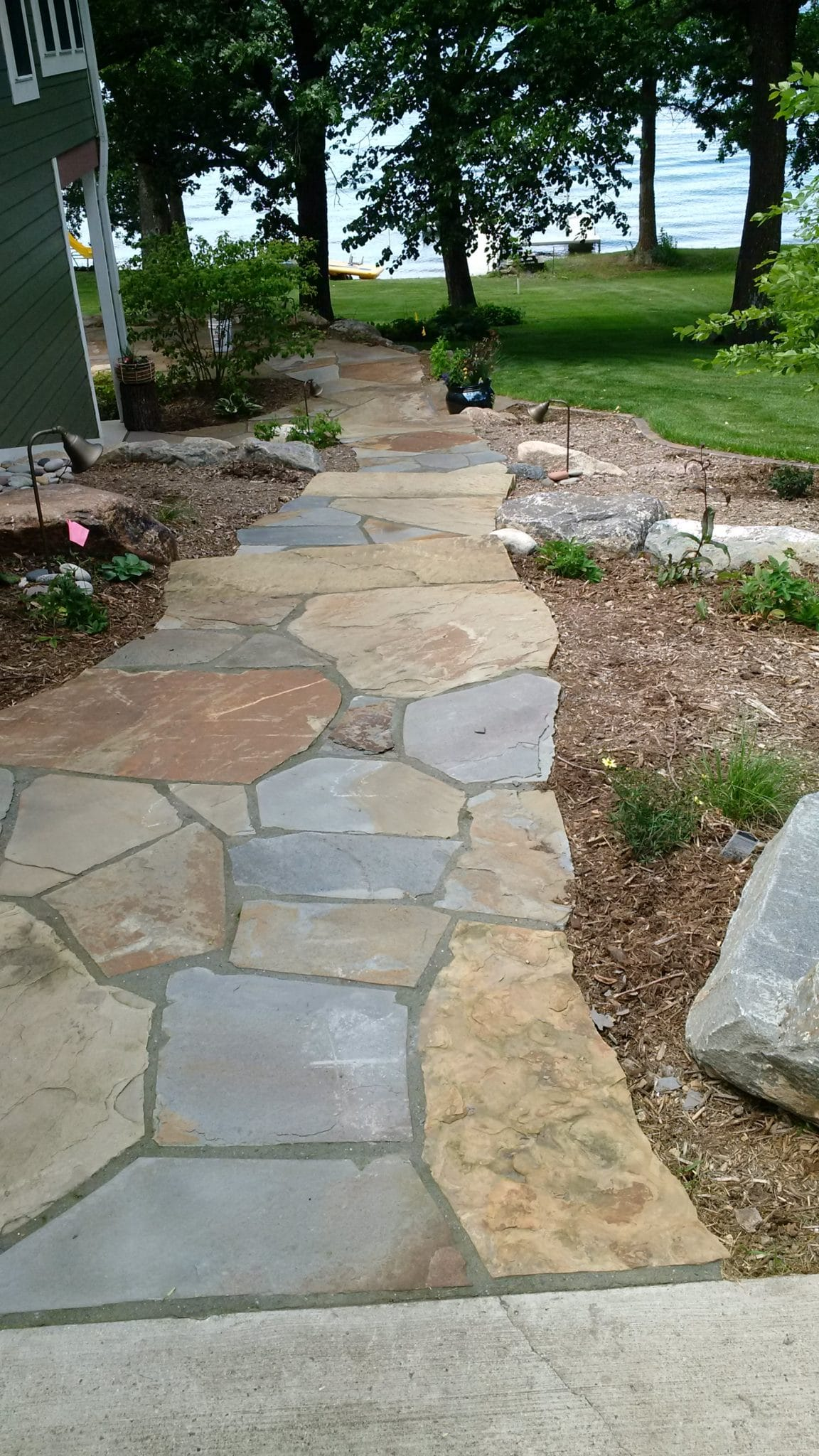 Front Landscaping With Rocks